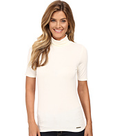 MICHAEL Michael Kors - Short Sleeve Turtleneck Top