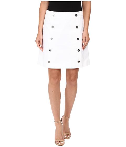 MICHAEL Michael Kors Button Detail Mini Skirt