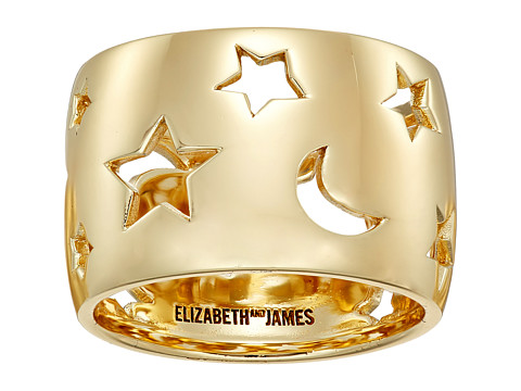 Elizabeth and James Luca Ring - Yellow Gold
