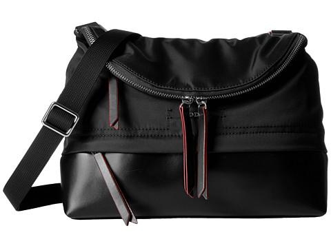 Lodis Accessories Kate Nylon RFID Under Lock & Key Yukie Convertible Crossbody - Black