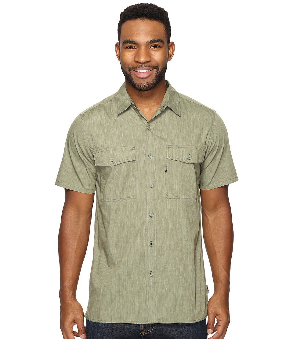 Royal Robbins Vista Chill Short Sleeve (Olivine) Men
