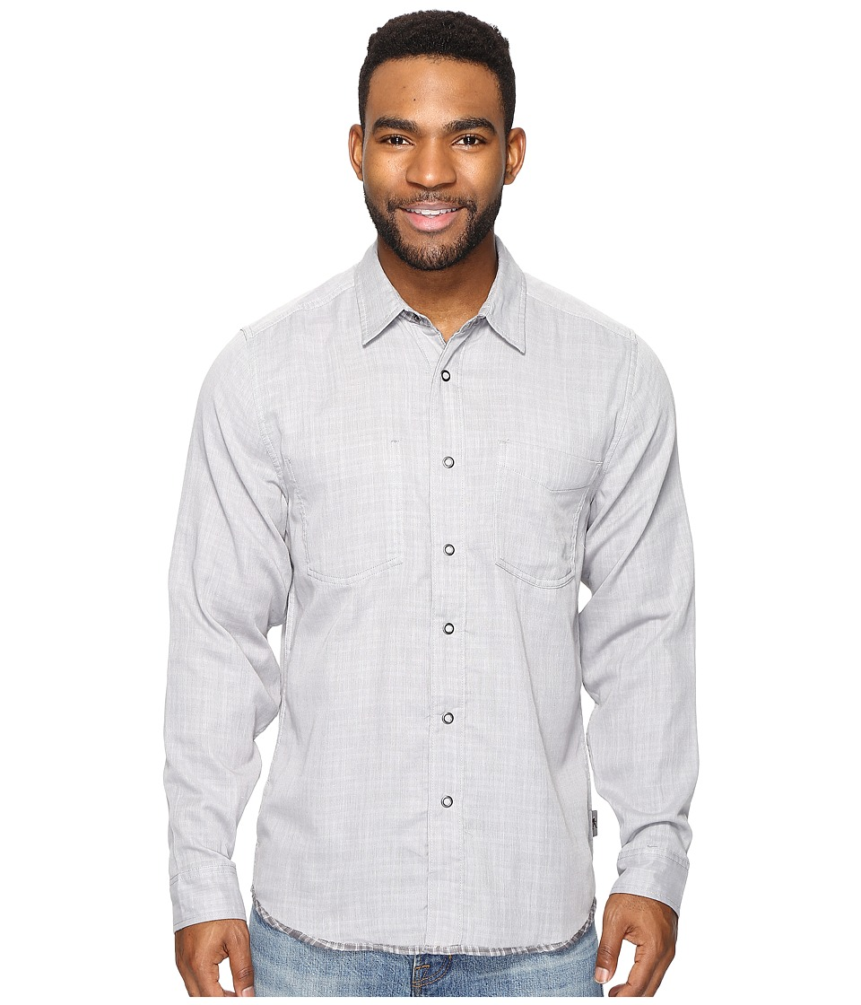 Royal Robbins Double Cloth Long Sleeve (Pewter) Men