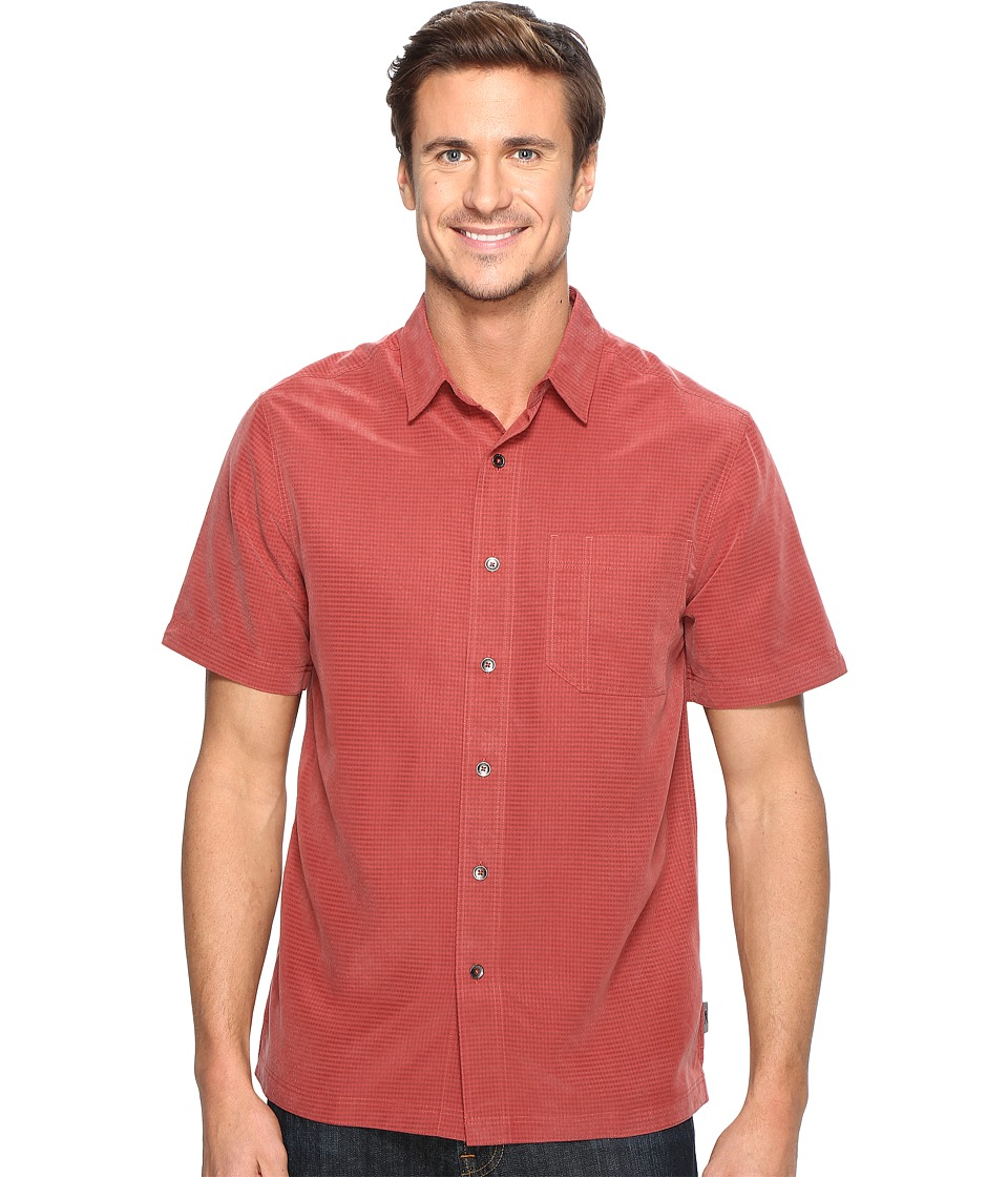 Royal Robbins Desert Pucker S/S (Dark Paprika) Men