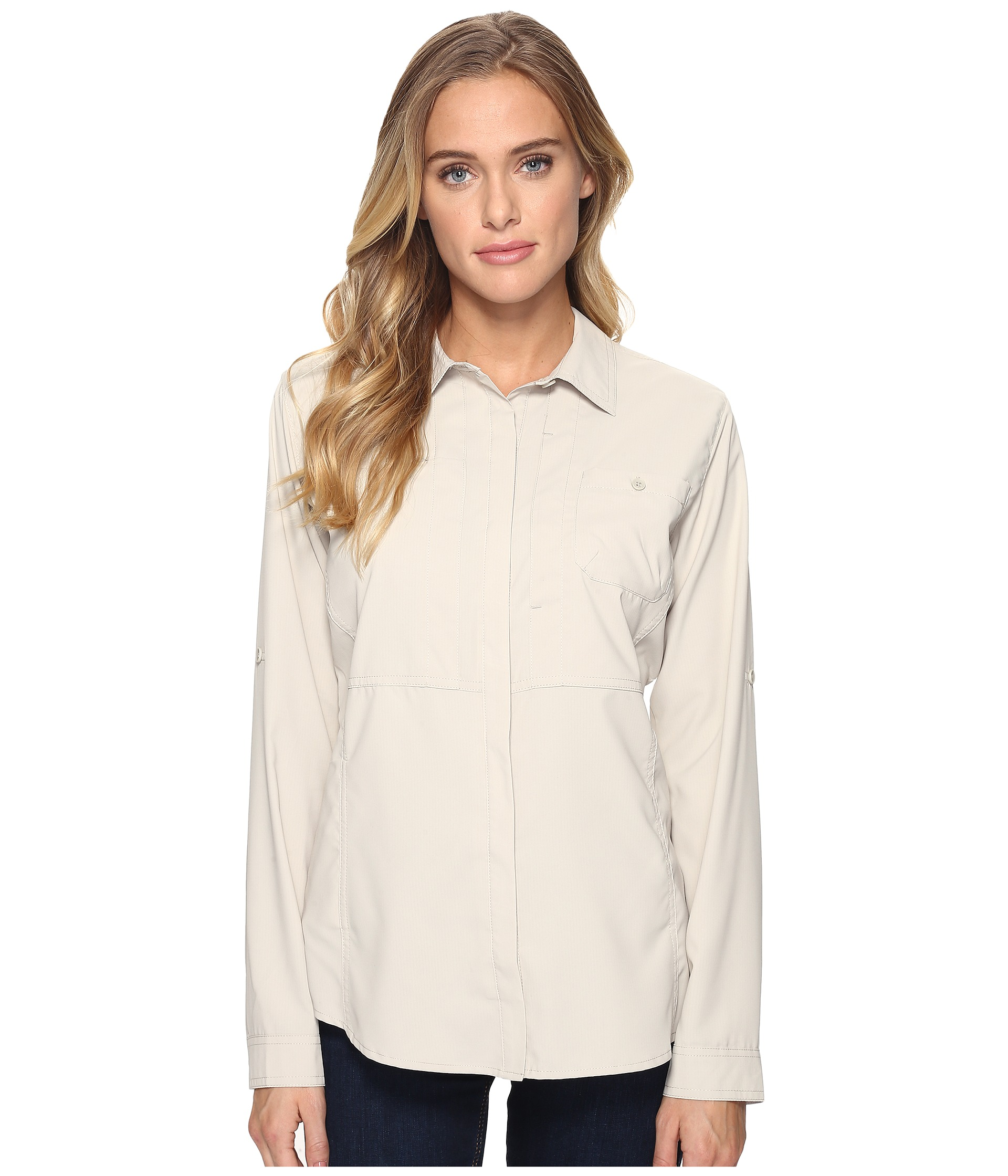Royal robbins expedition chill long sleeve shirt zappos for Royal robbins expedition shirt 3 4 sleeve women s