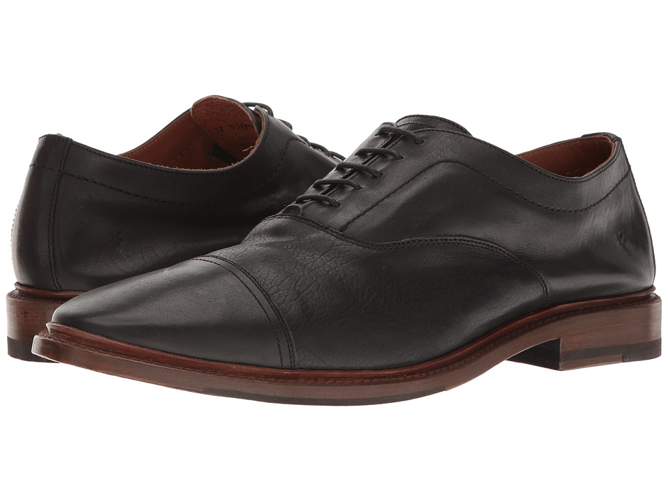 Frye - Paul Bal Oxford (Black Pressed Full Grain) Mens Shoes