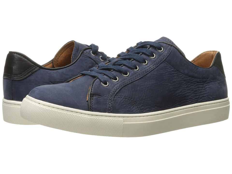 Frye - Walker Low Lace (Indigo Soft Italian Nubuck) Men's Lace up casual Shoes