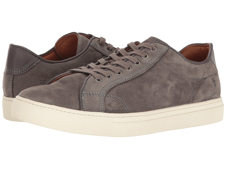 Frye - Walker Low Lace (Slate Soft Italian Nubuck) Men's Lace up casual Shoes