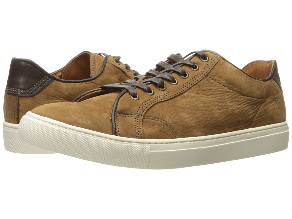 Frye - Walker Low Lace (Tobacco Soft Italian Nubuck) Men's Lace up casual Shoes