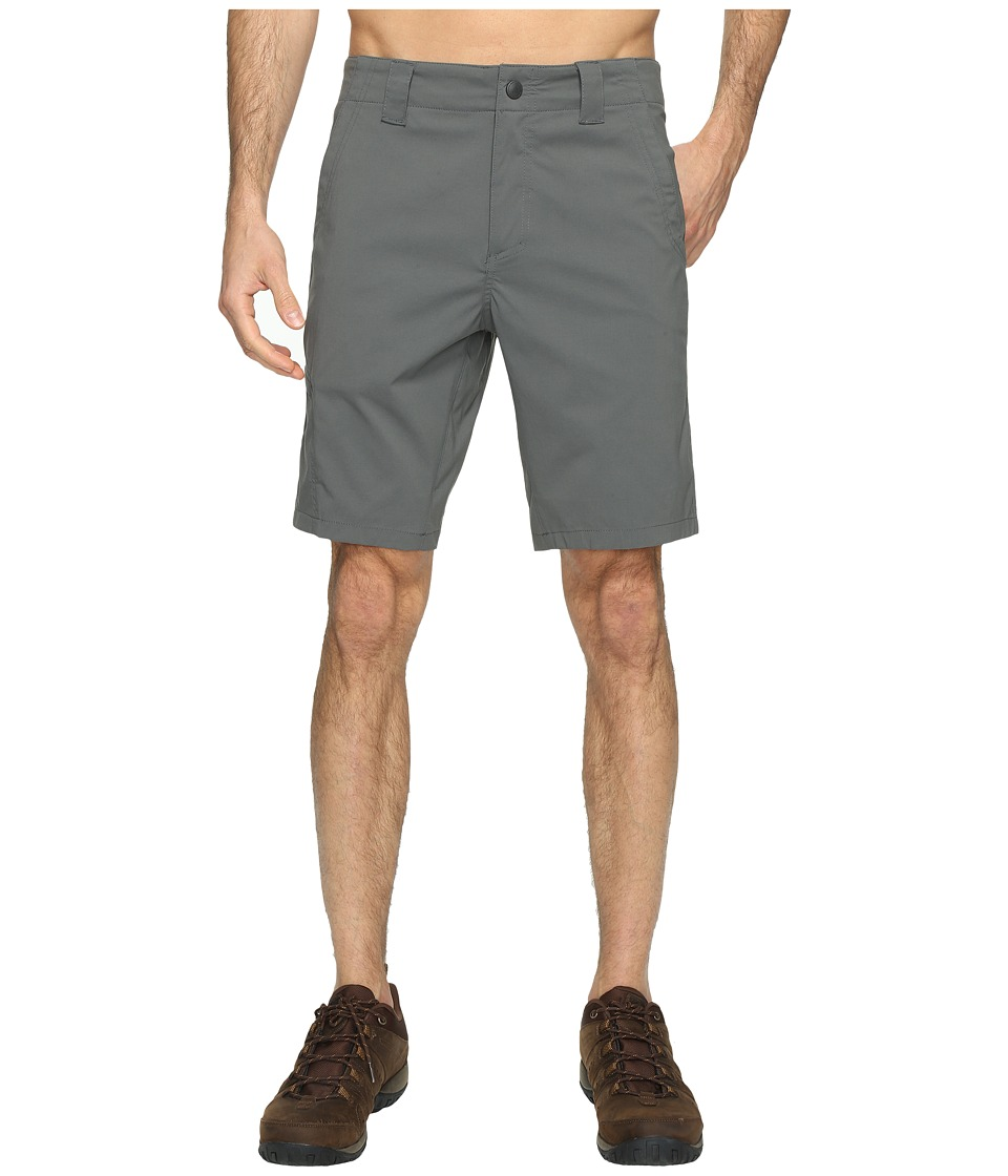 Royal Robbins Everyday Traveler Shorts (Charcoal) Men