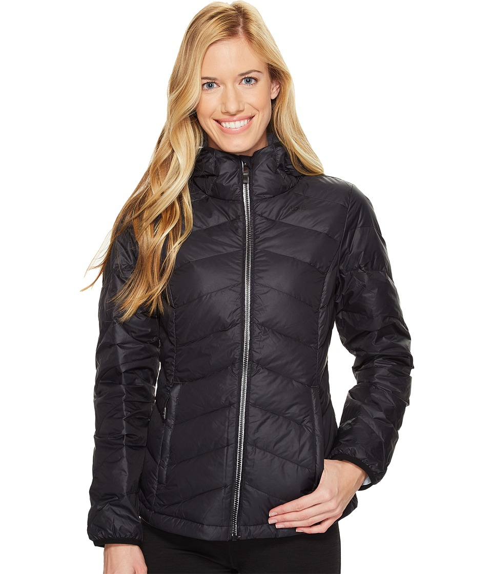 Lole Emeline Jacket (Black) Women's Coat