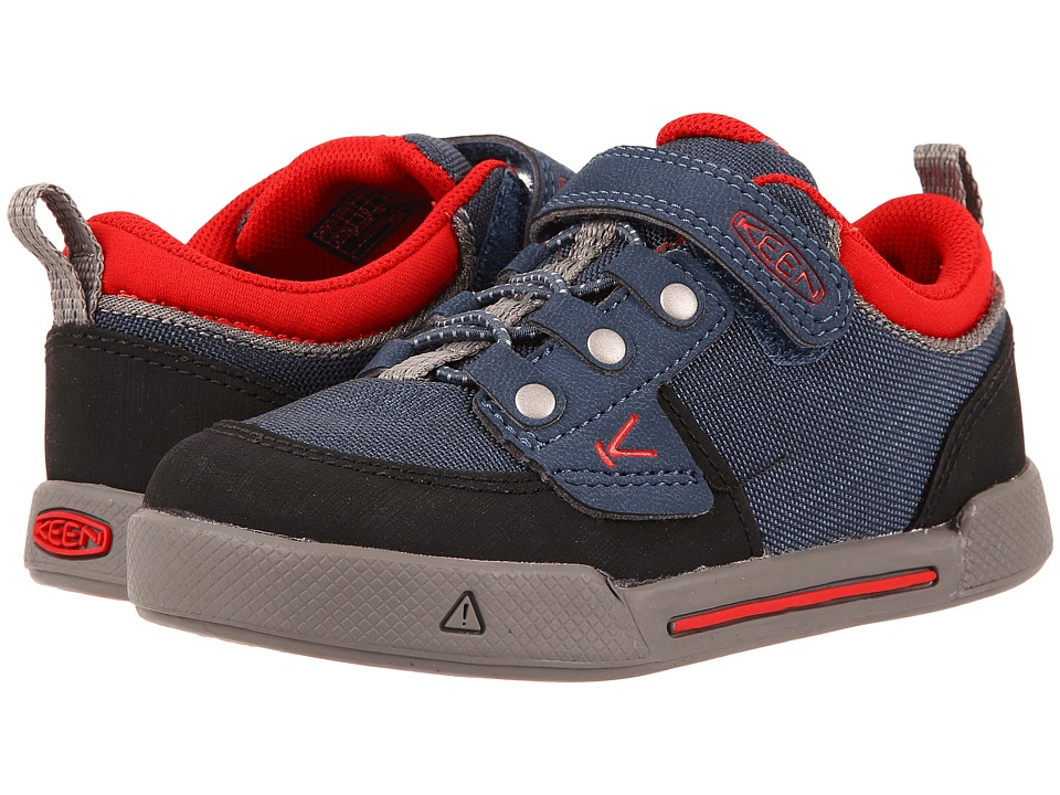 keen kids encanto wesley low (toddler little kid) (midnight navy formula one) boys shoes