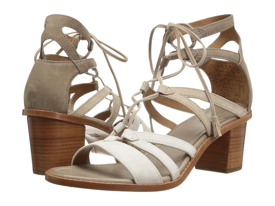 Frye Brielle Gladiator (White Multi) High Heels