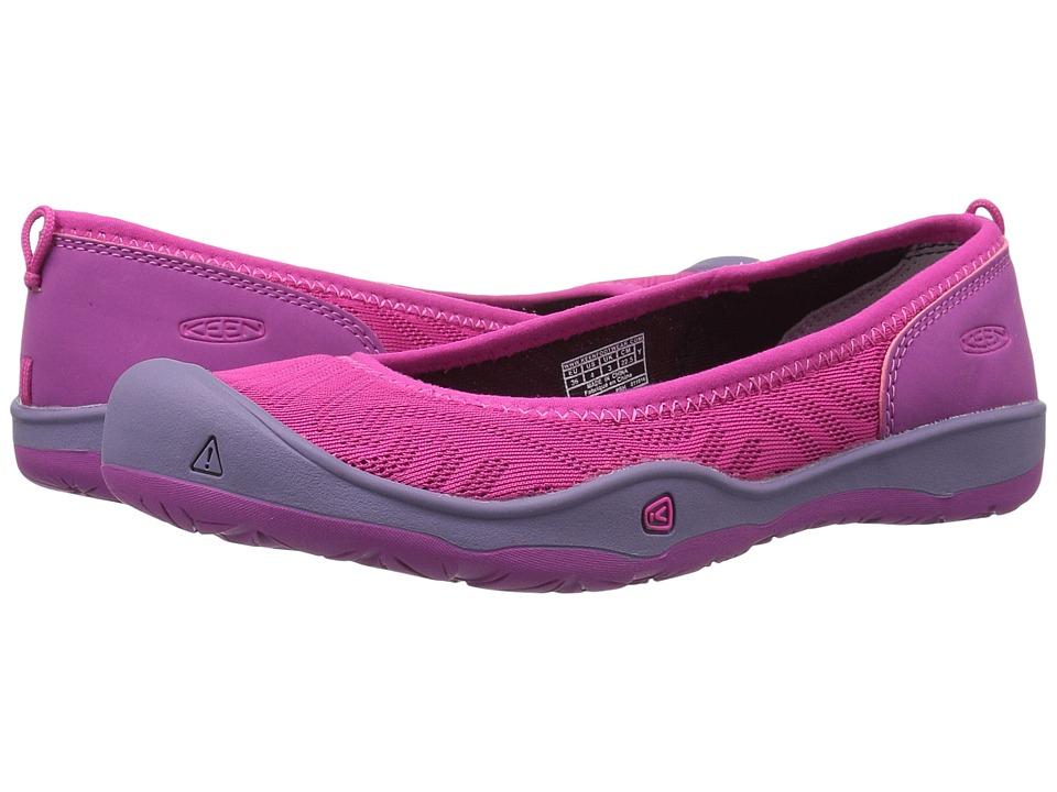 Keen Kids - Moxie Flat (Little Kid/Big Kid) (Very Berry/Purple Wine) Girls Shoes