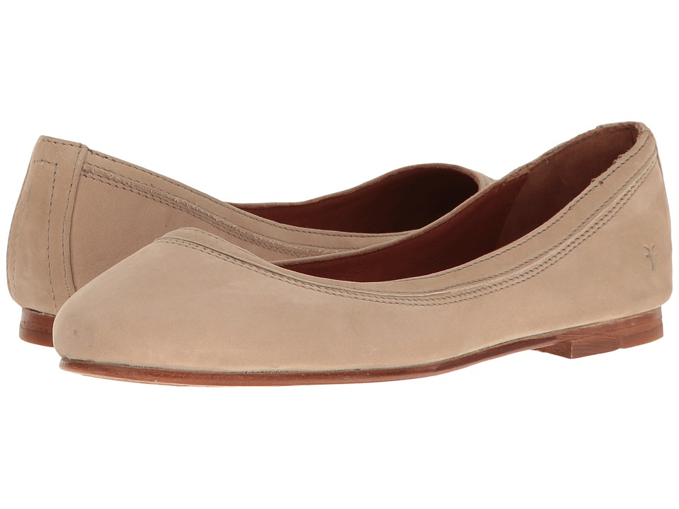 Frye Carson Ballet (Taupe Oiled Nubuck) Flats