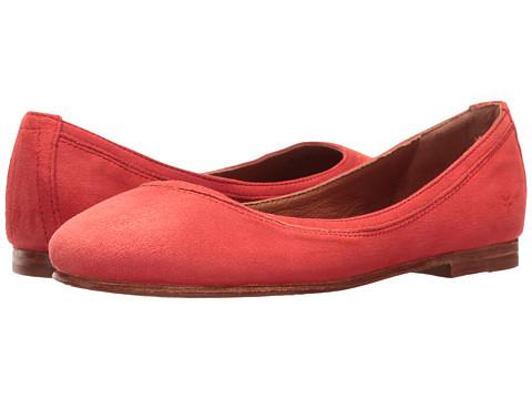 Frye Carson Ballet - Coral Suede