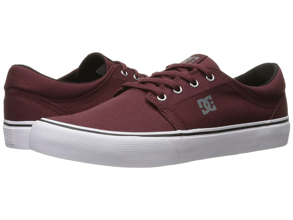 DC Trase TX (Oxblood) Skate Shoes