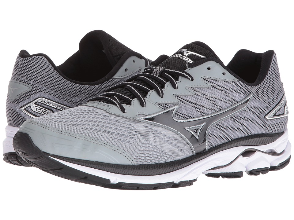 Mizuno Wave Rider 20 (Griffin/Black/White) Men