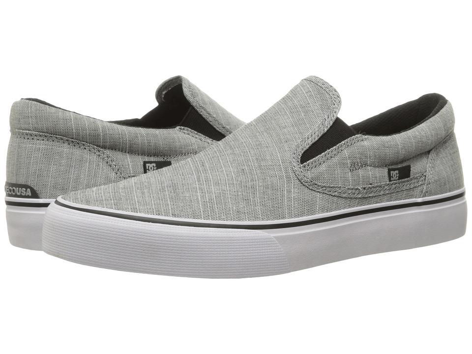DC Trase Slip-On TX SE (Charcoal Grey) Men