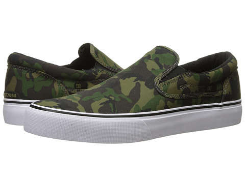 DC Trase Slip-On SP - Camo/White