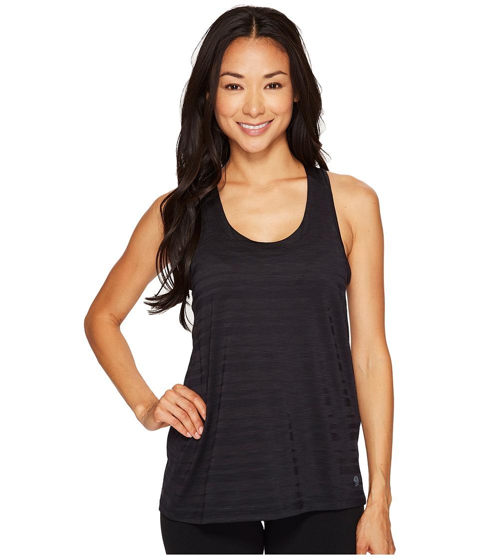 Mountain Hardwear Mighty Stripe Tank Top (Black) Women