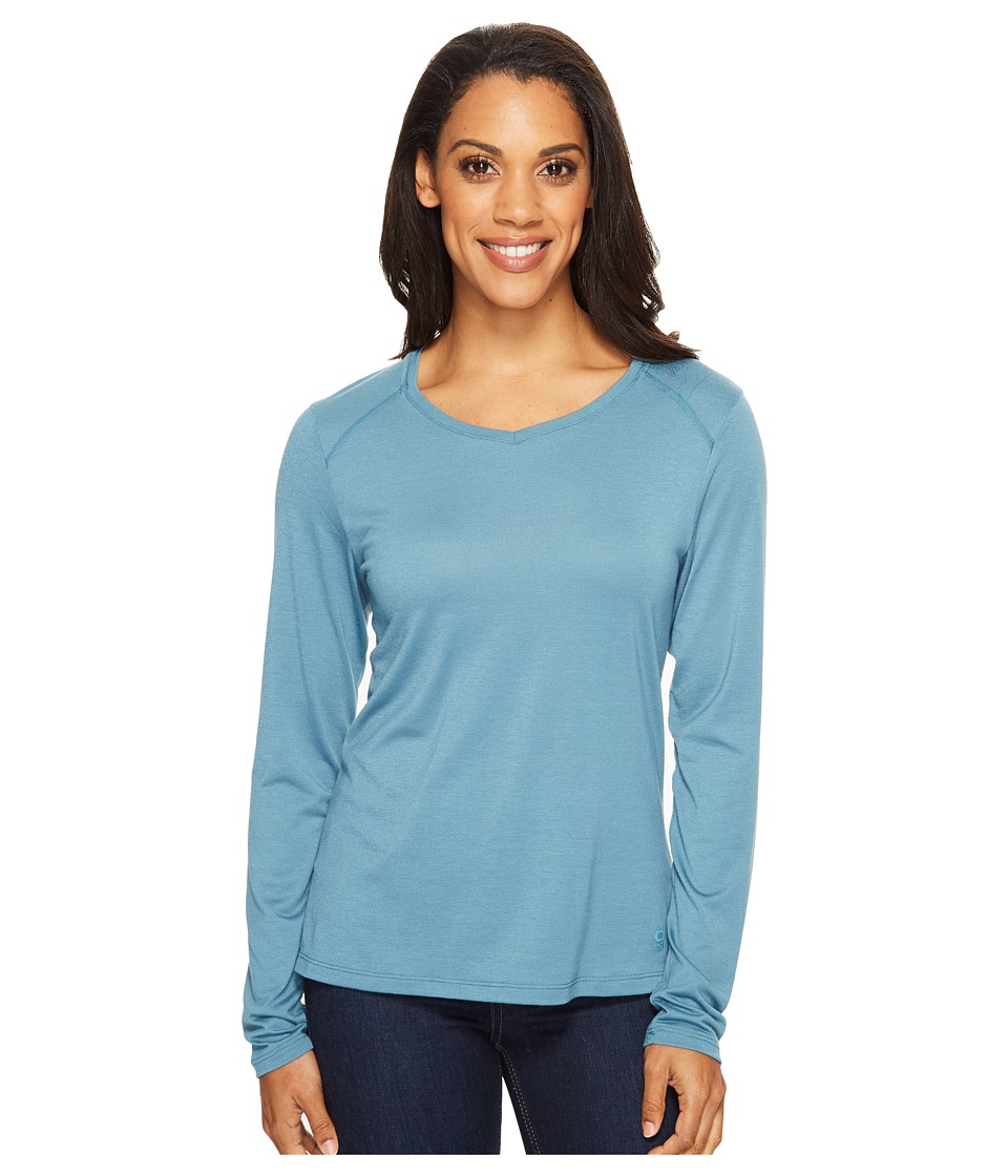Mountain Hardwear Coolhiker AC Long Sleeve T-Shirt (Cloudburst) Women