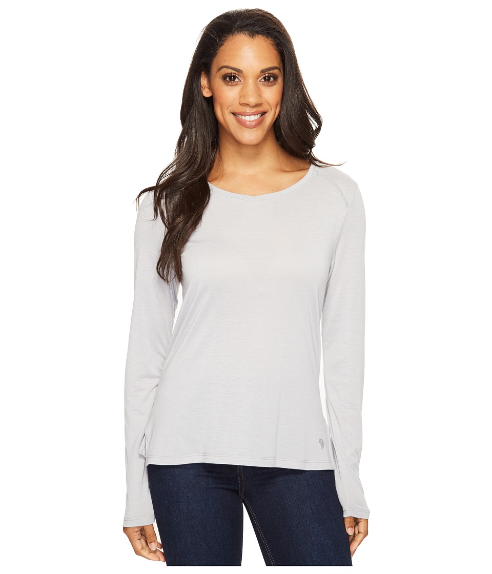 Mountain Hardwear Coolhiker AC Long Sleeve T-Shirt (Steam) Women