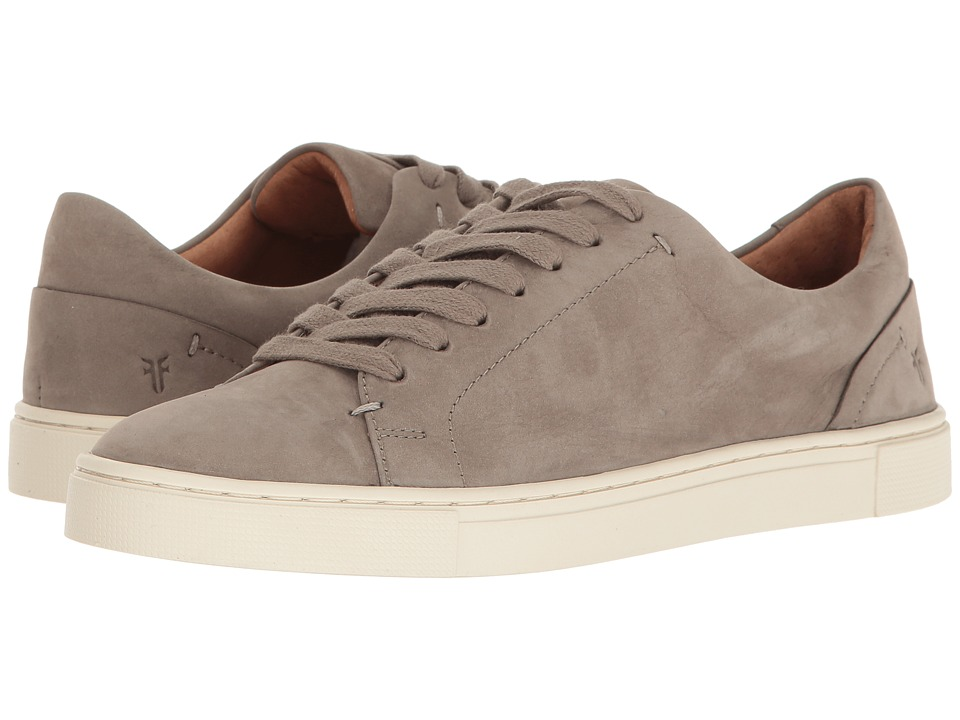 Frye Ivy Low Lace (Grey Soft Italian Nubuck) Women's Lace...