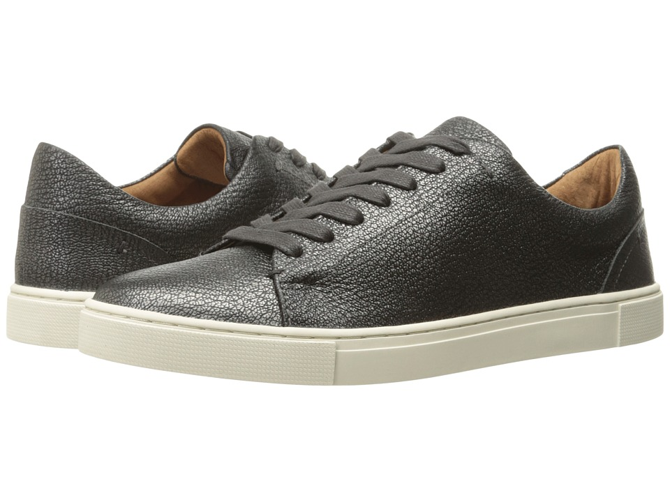 Frye Ivy Low Lace (Pewter Metallic Full Grain)