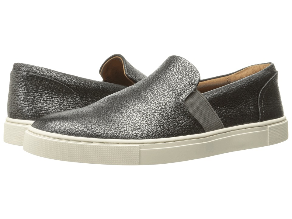 Frye Ivy Slip (Pewter Metallic Full Grain) Slip-On Shoes