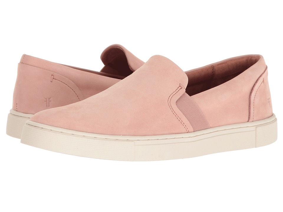 Frye Ivy Slip (Blush Soft Italian Nubuck) Slip-On Shoes