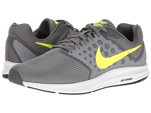 Nike Downshifter 7 - Cool Grey/Volt/Dark Grey/White