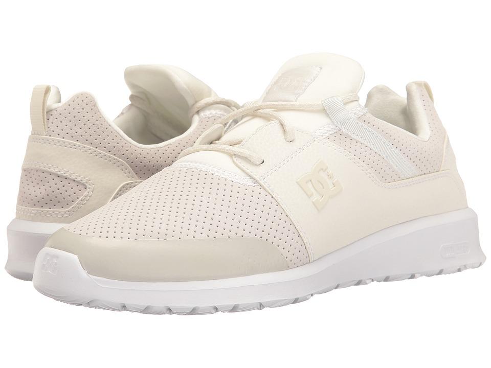 DC Heathrow Prestige (White/White/White) Skate Shoes