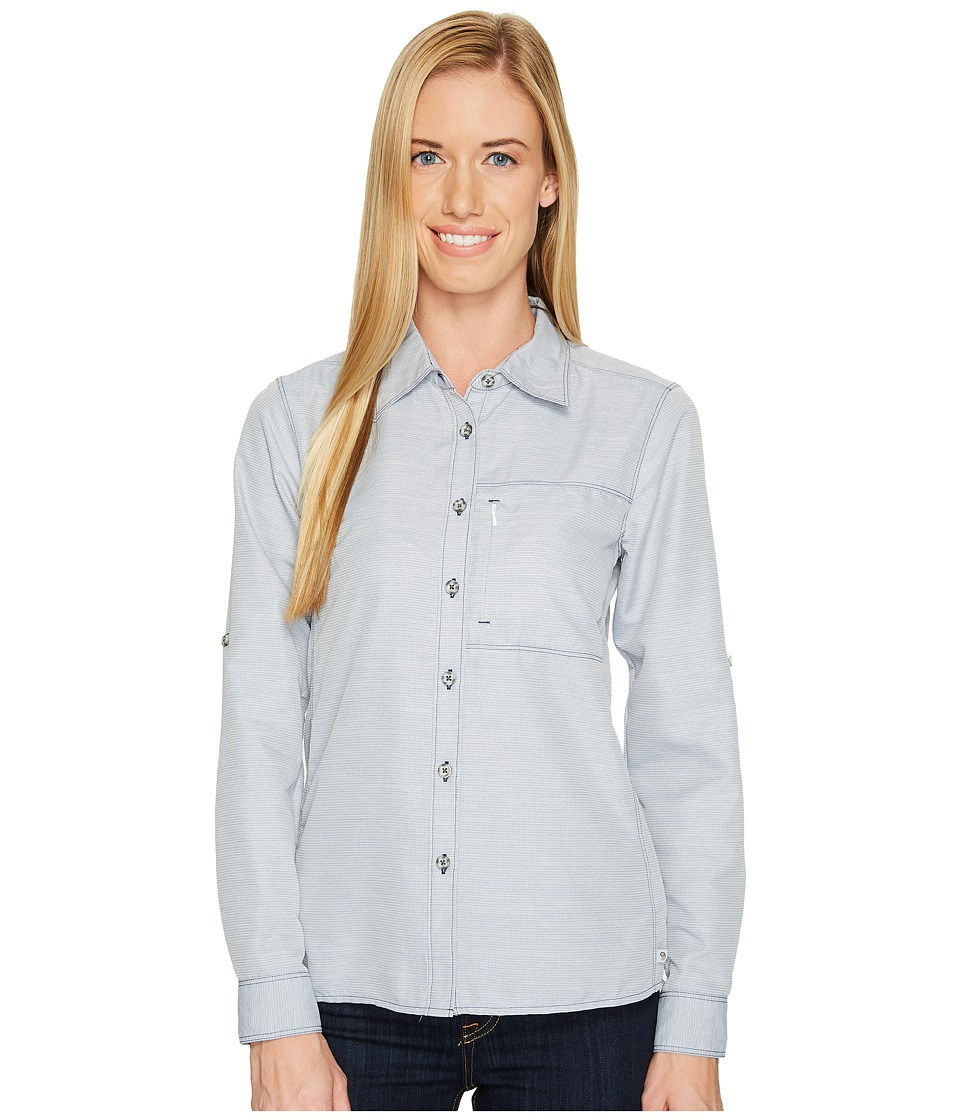 Mountain Hardwear Canyontm Long Sleeve Shirt (Indigo Blue) Women