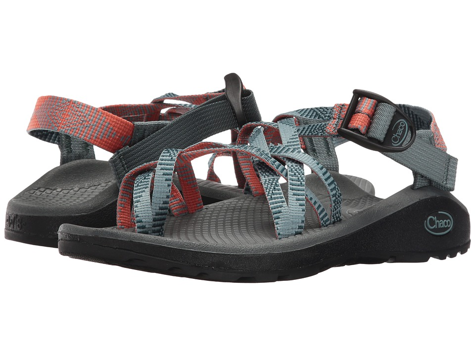 Chaco Z/Cloud X2 (Rune Teal) Sandals