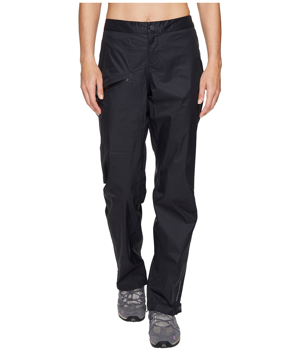Mountain Hardwear - Exponent Pants (Black) Womens Casual Pants