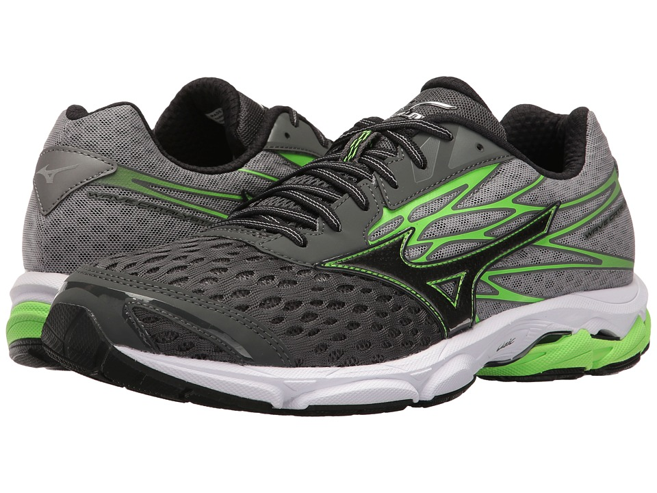 Discounted Buy Original Mizuno Wave Catalyst Running Shoes Mens Green Gecko 5W9H