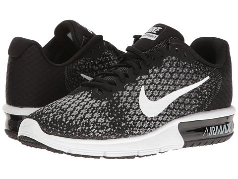 Nike Air Max Sequent 2 - Black/White/Dark Grey/Wolf Grey