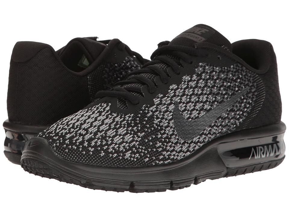 Nike Air Max Sequent 2 (Black/Metallic Hematite/Dark Grey/Wolf Grey) Women