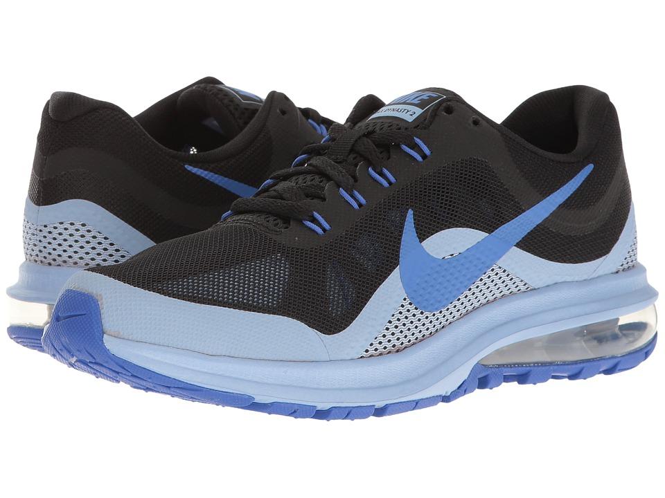 Nike Air Max Dynasty 2 (Black/Medium Blue/Aluminum) Women
