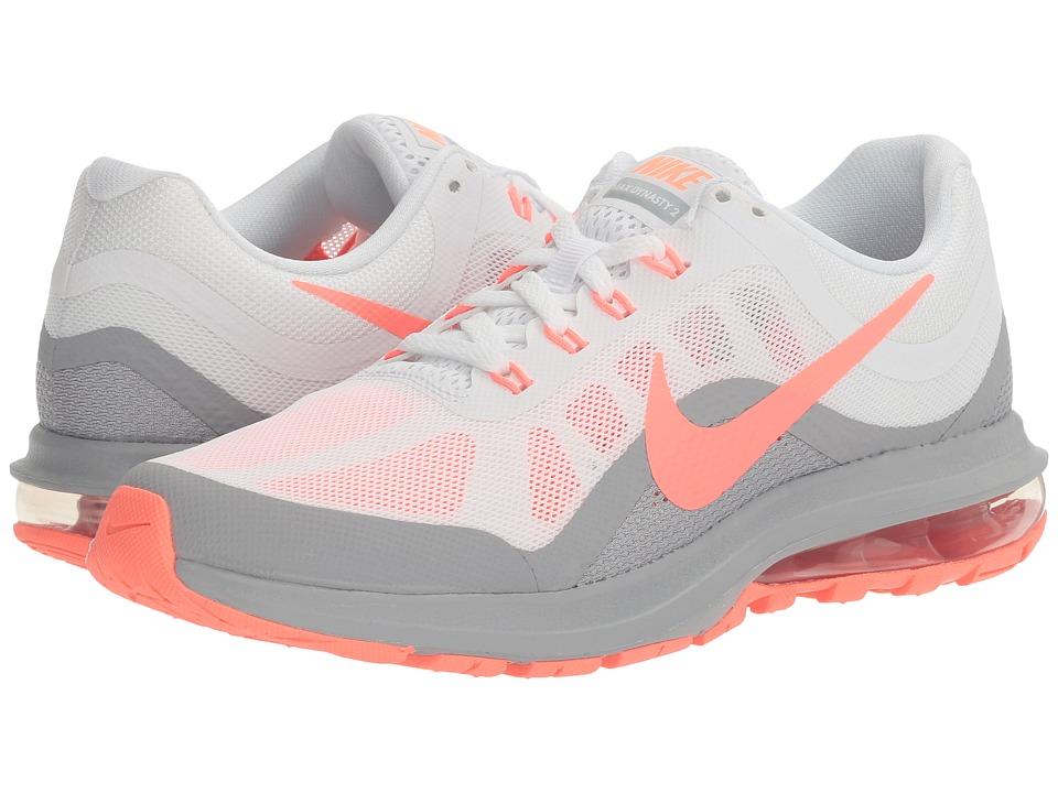 Nike Air Max Dynasty 2 (White/Lava Glow/Wolf Grey) Women