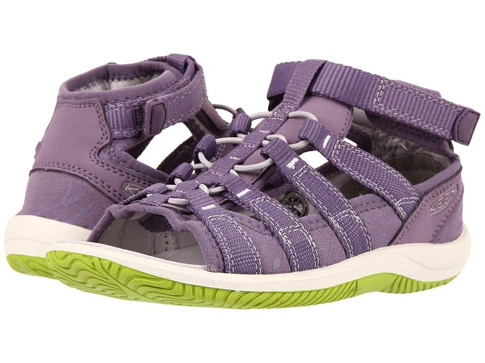 Keen Kids - Hadley (Little Kid/Big Kid) (Purple Sage/Greenery) Girls Shoes