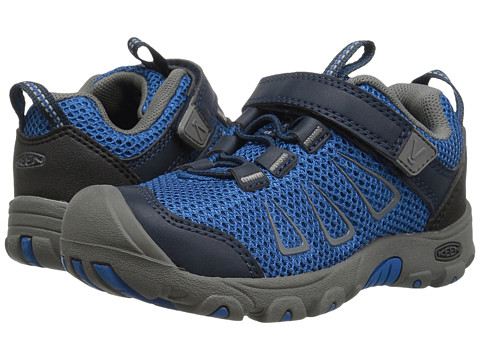 Keen Kids Oakridge Mesh (Toddler/Little Kid) - True Blue/Gargoyle