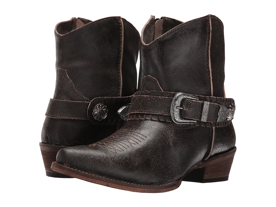 Roper Belt It (Brown) Cowboy Boots