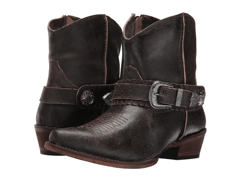 Roper Belt It (Brown) Cowboy Boots