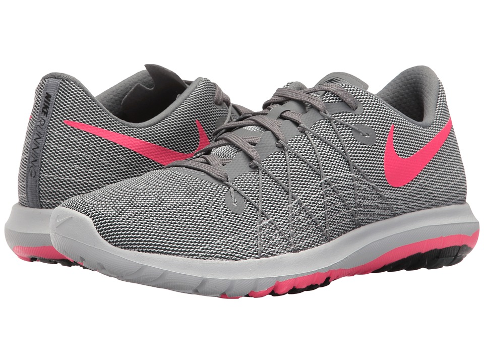 Nike Flex Fury 2 (Cool Grey/Racer Pink/Pure Platinum) Women