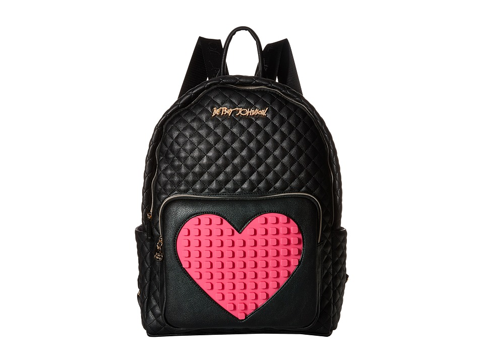 Betsey Johnson - Buy A Vowel Backpack (Black) Backpack Bags