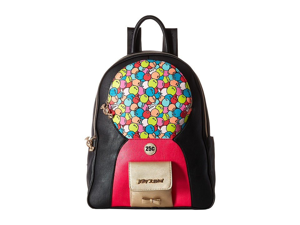 Betsey Johnson - Bubble Gum Backpack (Black/Multi) Backpack Bags
