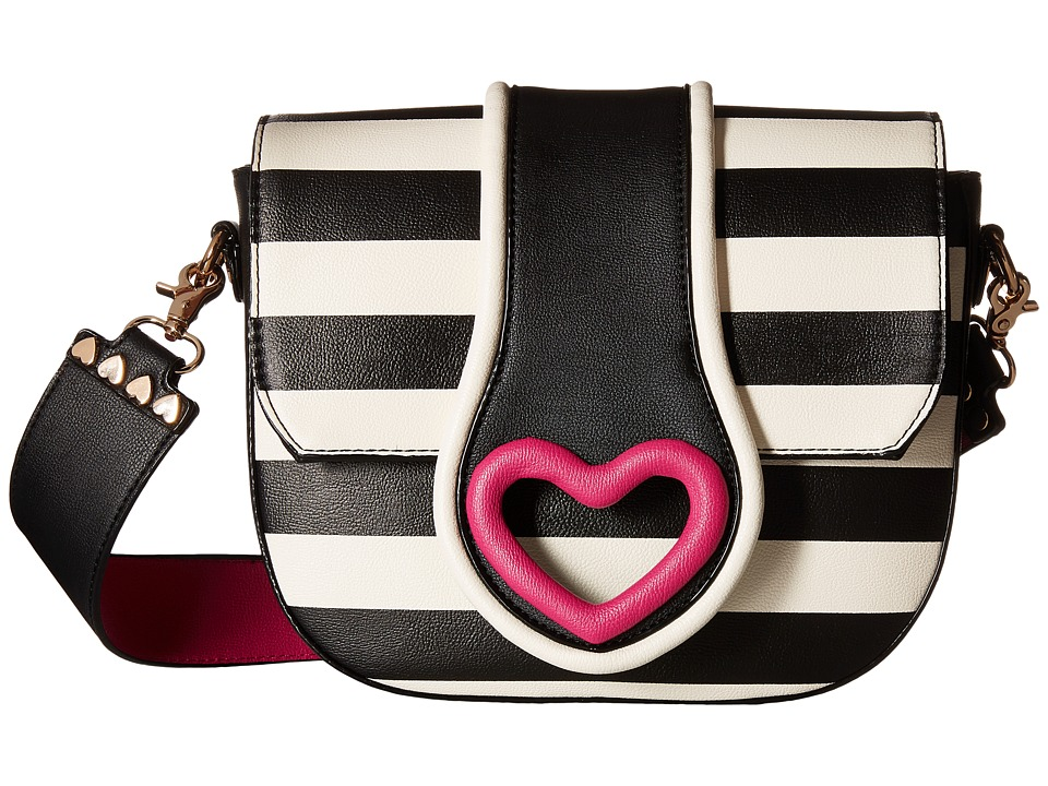 Betsey Johnson - Loop Di Loo Crossbody (Stripe) Cross Body Handbags