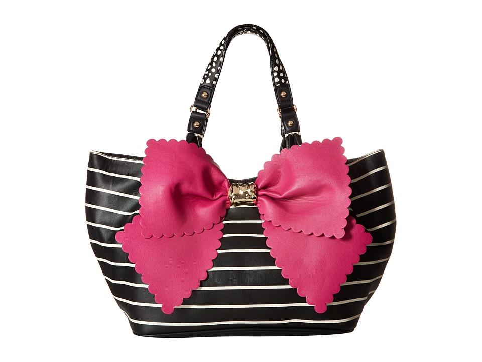 Betsey Johnson - Knot Your Average Tobo (Fuchsia) Hobo Handbags