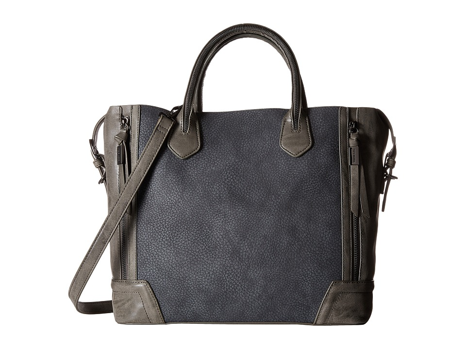 Steve Madden - Browann Updated Farley (Grey) Handbags